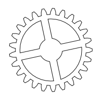 [fedora gears]