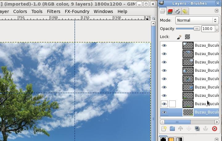 Nicu's How-to - Custom grids with GIMP